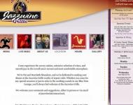Jazz Wine Grill website