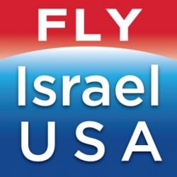 Fly Israel USA logo