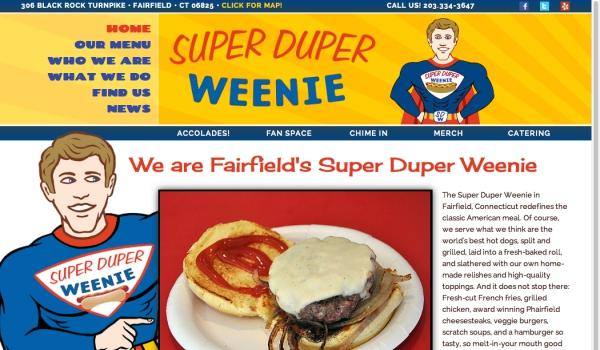 Super Duper Weenie website