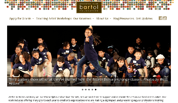 Bartol Foundation Website